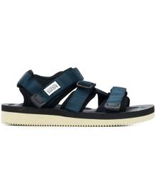 Suicoke touch strap fastening sandals - Blue