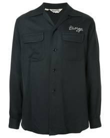 Fake Alpha Vintage 1950s Rockabilly shirt - Black