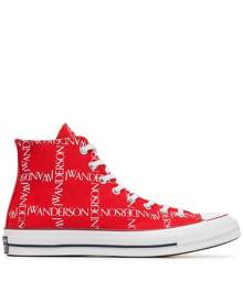 JW Anderson x Converse Logo Print Sneakers - Red