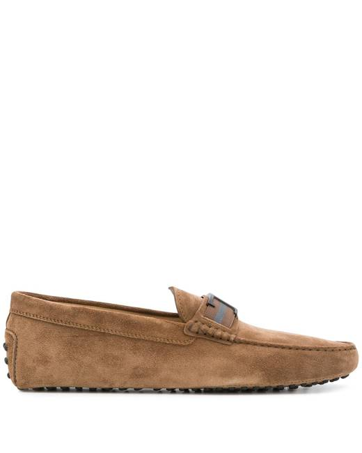 Brown Men's Moccasins - Shoes | Stylicy