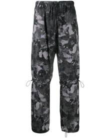 Marcelo Burlon County of Milan high-rise camouflage-print track pants - Grey