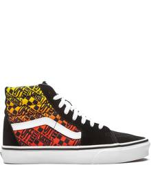 Vans Sk8 Hi Flame sneakers - Black