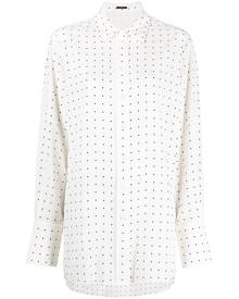 Joseph polka-dot silk shirt - Neutrals