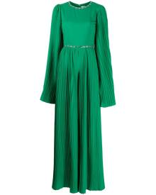 Semsem x Ramadan crystal-embellished pleated jumpsuit - Green
