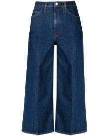 FRAME wide-leg cropped jeans - Blue