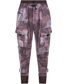 Dolce & Gabbana camouflage-print track pants - Red