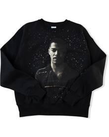 Kid Cudi x Champion Photo Galaxy sweatshirt - Black