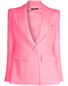 Alex Perry single-breasted tailored blazer - Pink