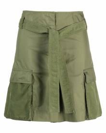 Kenzo high-waist cargo shorts - Green