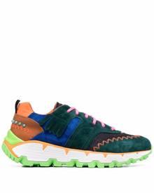 ETRO Paisley-print multicolour sneakers - Green