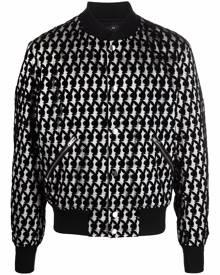 AMIRI Playboy bomber jacket - Black