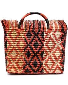 Sensi Studio Canasta Mexicana tote bag - Orange