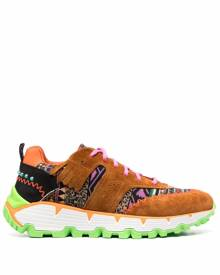 ETRO Earthbeat panelled sneakers - Brown