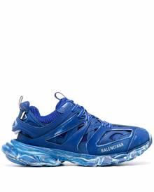 Balenciaga Track faded-blue sneakers