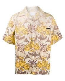 Prada Hawaiian shirt - Yellow