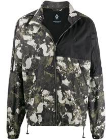 Marcelo Burlon County of Milan camouflage-print logo windbreaker - Green