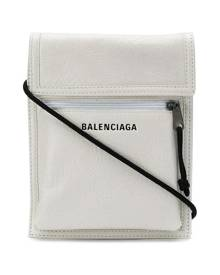 Balenciaga Explorer pouch crossbody bag - White