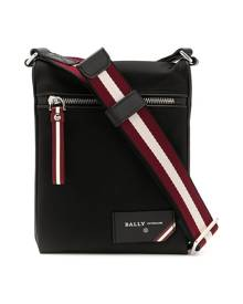 Bally nylon messenger bag - Black