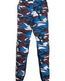 Prada - camouflage track pants - men - Calf Leather/Polyamide - S, L, M, XL - Red