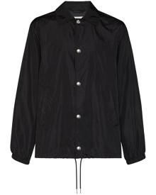Givenchy - logo print windbreaker jacket - men - Polyamide - 46, 48, 50, 52, 54, 44 - Black