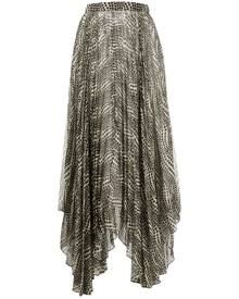 Isabel Marant polka-dot draped skirt - Neutrals