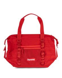 Supreme logo zip holdall tote - Red