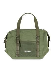 Supreme logo zip tote - Green