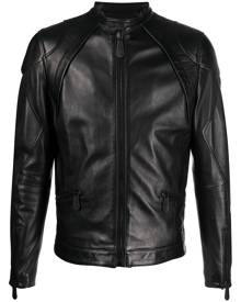Philipp Plein Moto leather jacket - Black