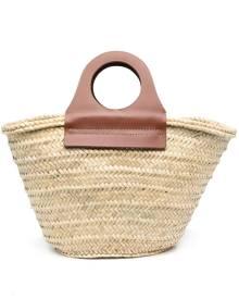 Hereu woven-straw tote bag - Neutrals