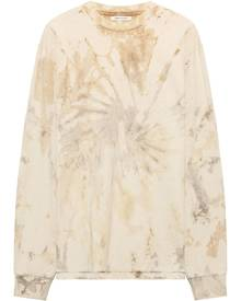 John Elliott tie-dye long sleeve sweatshirt - Neutrals