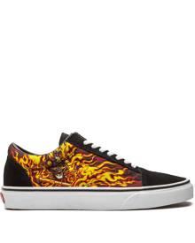Vans Old Skool flame sneakers - Black