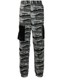 A BATHING APE® camouflage-print track pants - Grey
