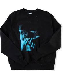 Kid Cudi x Champion Blue Photo sweatshirt - Black
