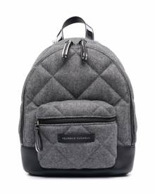 Brunello Cucinelli Kids quilted backpack - Grey