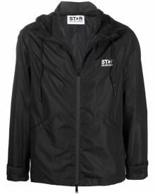 Golden Goose Daris star-print windbreaker jacket - Black