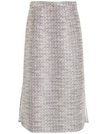 Olympiah midi tweed skirt - Neutrals
