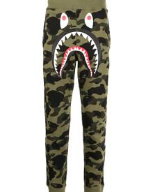 A BATHING APE® Monster camouflage-print track pants - Green