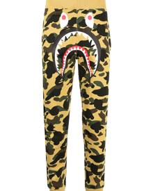 A BATHING APE® Monster camouflage-print track pants - Brown