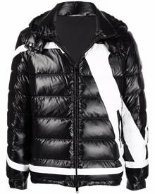 Valentino logo-print puffer jacket - Black