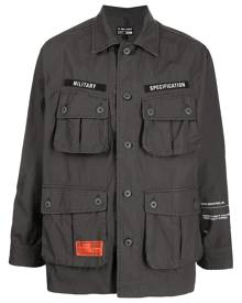 izzue Military Specification shirt - Grey
