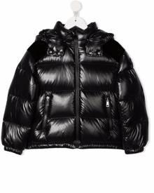 Moncler Enfant Chouelle logo puffer jacket - Black