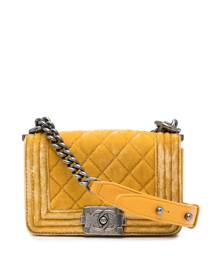Chanel Pre-Owned 2013 Boy shoulder bag - Yellow