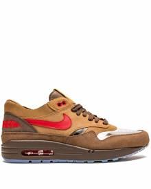 Nike Air Max 1 panelled sneakers - Brown