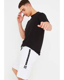 ISAWITFIRST.com White Men's Cargo Pocket Lounge Shorts - XS / WHITE
