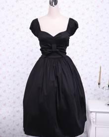 milanoo.com Milanoo Cotton Sweetheart Empire Waist Cotton Classic Lolita Dress