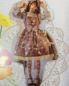 milanoo.com Gothic Lolita JSK Dress Infanta Sleeveless Lolita Jumper Skirts