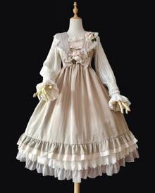 milanoo.com Milanoo Classic Lolita JSK Dress Infanta Bows Lolita Jumper Skirts