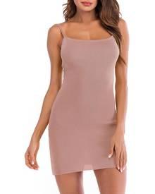 milanoo.com Bodycon Dresses Sleeveless Cut Out Bowknot Slip Dress
