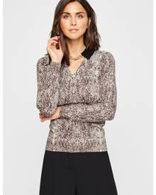 Damsel in a Dress Corbin Snake Knit Jumper, Neutral