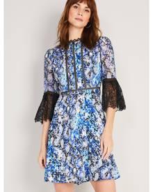 Damsel in a Dress Women Anysia Snake Print Dress